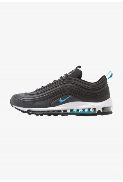 Nike AIR MAX 97 - Baskets basses - black/blue fury black/blue fury-dark grey