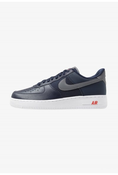 Nike AIR FORCE 1 '07 LV8 - Baskets basses obsidian/cool grey/team orange