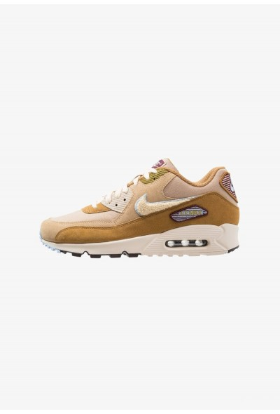 Nike AIR MAX 90 PREMIUM SE - Baskets basses muted bronze/light cream/royal tint/desert/bordeaux/camper green