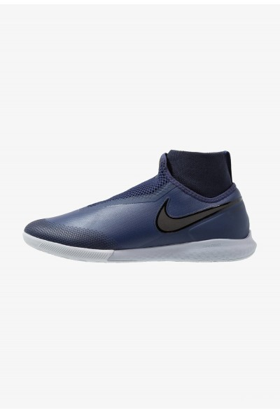 Nike PHANTOM REACT OBRA PRO IC - Chaussures de foot en salle midnight navy/black/wolf grey/dark obsidian