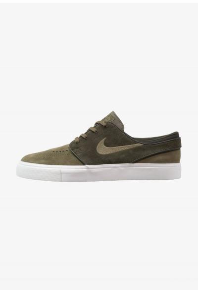 Nike ZOOM STEFAN JANOSKI - Baskets basses sequoia/medium olive/summit white/medium brown