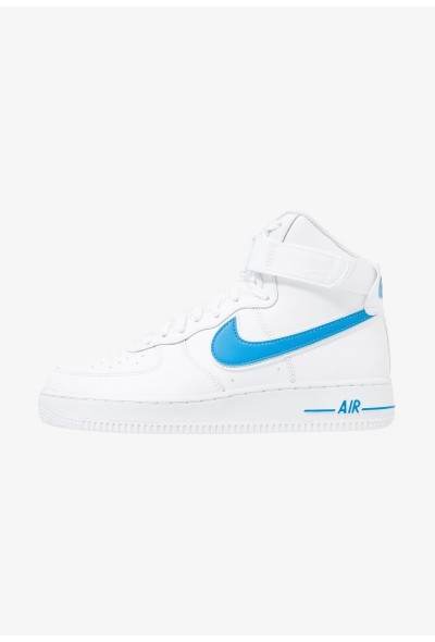 Nike AIR FORCE 1 '07 3 - Baskets montantes white/photo blue