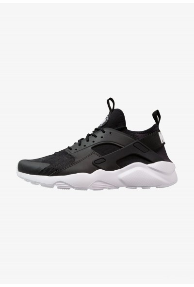 Nike AIR HUARACHE RUN ULTRA - Baskets basses black/white