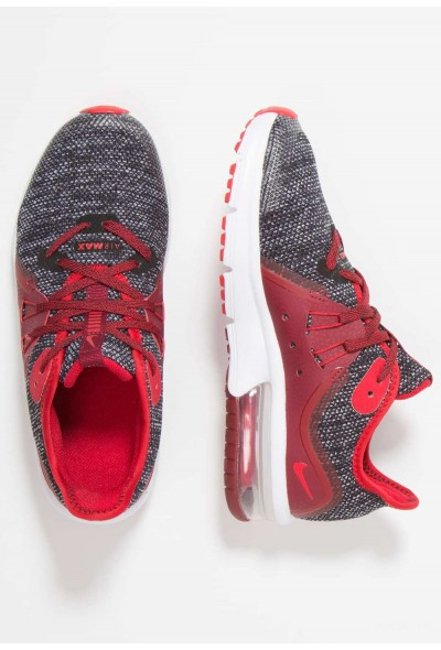 Nike AIR MAX SEQUENT 3 - Chaussures de running neutres black/universal red/white/team red