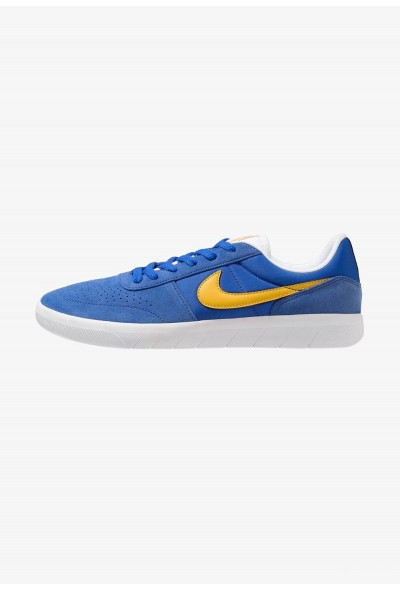 Nike TEAM CLASSIC - Baskets basses game royal/yellow ochre/white