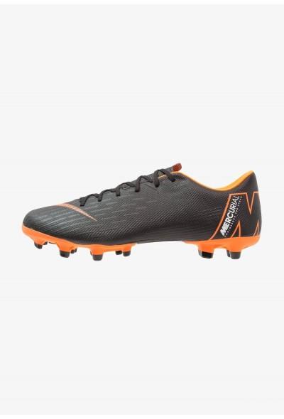 Nike MERCURIAL VAPOR 12 ACADEMY MG - Chaussures de foot à crampons black/total orange/white