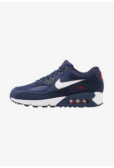 Nike AIR MAX 90 ESSENTIAL - Baskets basses midnight navy/white/university red/obsidian