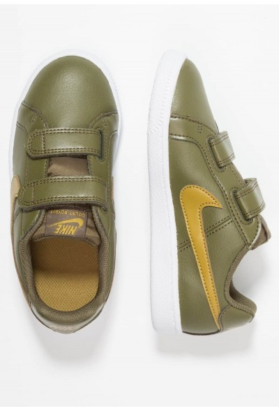 Nike COURT ROYALE (PSV) - Baskets basses olive/golden moss/white