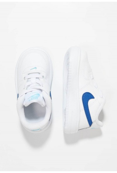 Nike FORCE 1 18 - Chaussures premiers pas white/indigo force/blue gaze