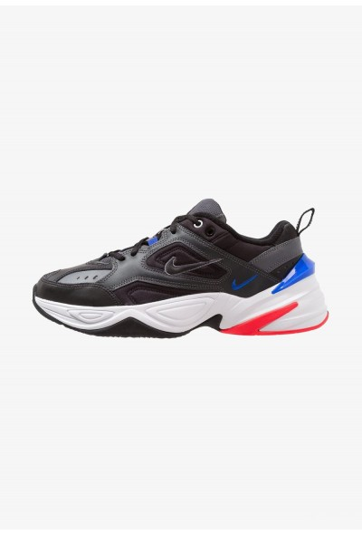 Nike M2K TEKNO - Baskets basses dark grey/black/baroque brown/racer blue/solar red/white