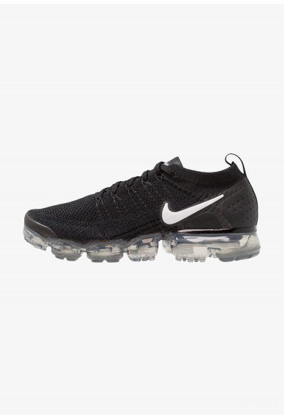 Nike AIR VAPORMAX FLYKNIT - Chaussures de running neutres black/white/dark grey/metallic