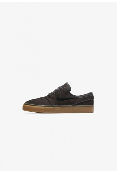Nike STEFAN JANOSKI - Baskets basses dark grey/light brown