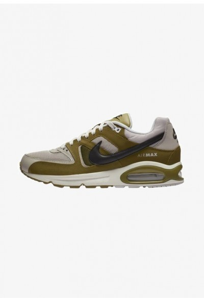 Nike COMMAND - Baskets basses moon washed/olive/black