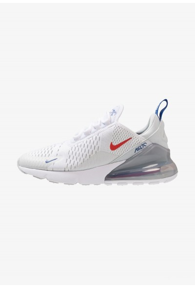 Nike AIR MAX 270 - Baskets basses white/habanero red/pure platinum/game royal