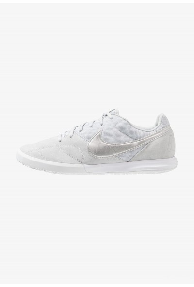Nike THE PREMIER II SALA - Chaussures de foot en salle pure platinum/metallic silver/white