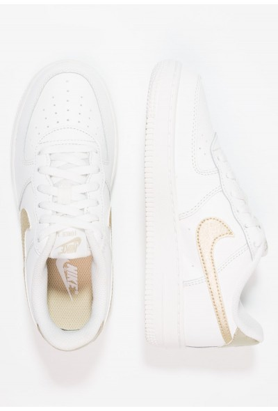 Nike FORCE 1 (PS) - Baskets basses summit white/metallic gold star