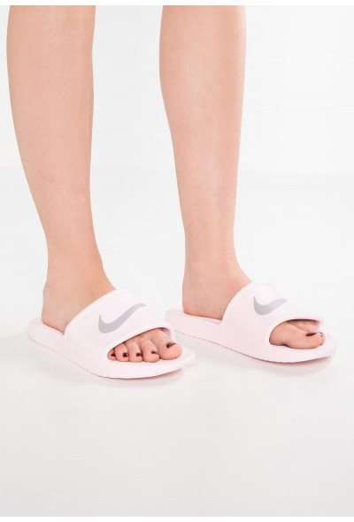 Nike KAWA SHOWER - Sandales de bain arctic pink/atmosphere grey