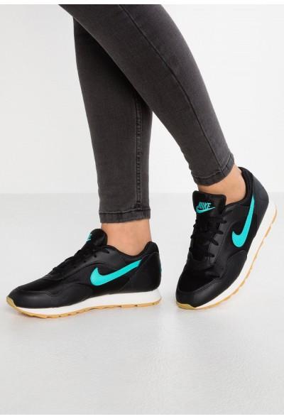Nike OUTBURST - Baskets basses black/hyper jade/yellow/swan