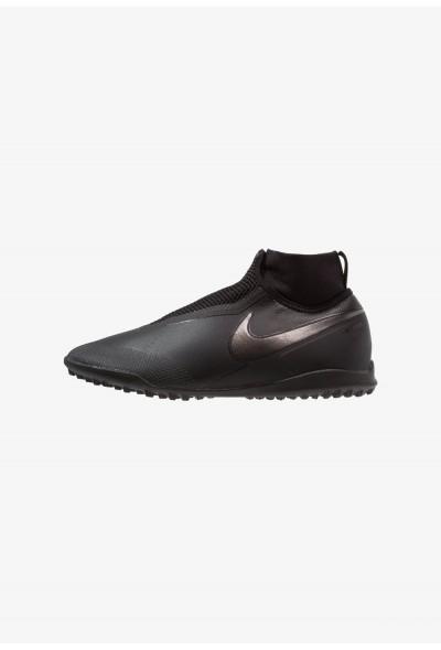 Nike PHANTOM REACT OBRA PRO TF - Chaussures de foot multicrampons black/light crimson