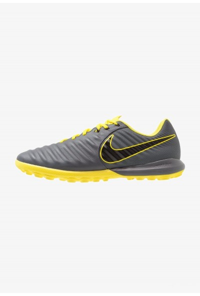 Nike TIEMPO LUNAR LEGENDX 7 PRO TF - Chaussures de foot multicrampons dark grey/black/optic yellow