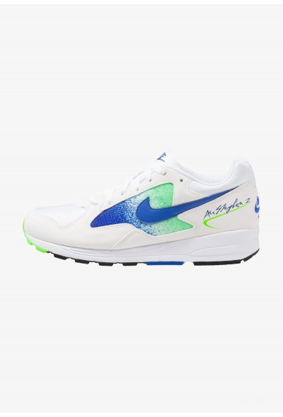 Nike AIR SKYLON II - Baskets basses white/hyper royal/green strike/black