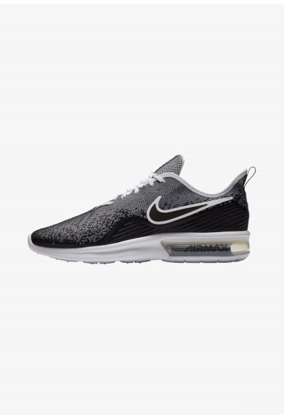 Black Friday 2019 - Nike AIR MAX SEQUENT 4 - Chaussures de running neutres black/white