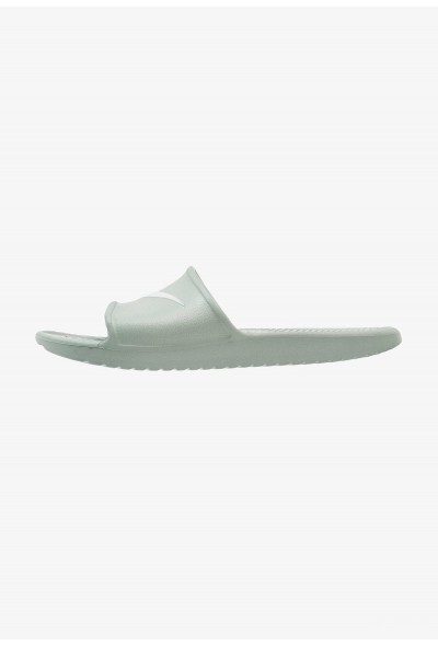 Nike KAWA SHOWER - Sandales de bain clay green/base grey