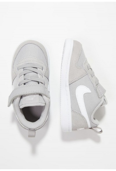 Nike COURT BOROUGH LOW - Chaussures premiers pas atmosphere grey/white