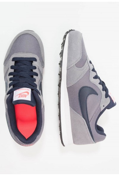 Nike MD RUNNER 2 - Baskets basses gunsmoke/obsidian/hot punch/vast grey