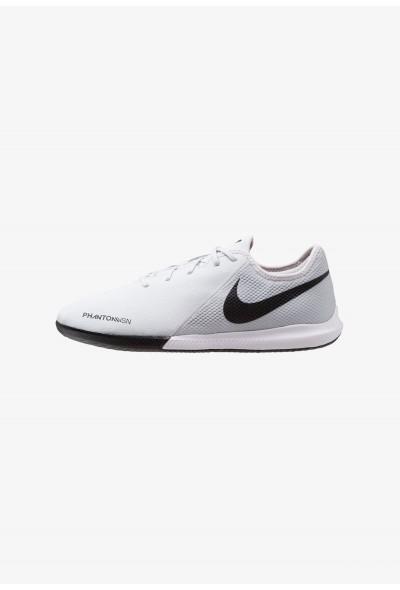 Nike PHANTOM OBRAX 3 GATO IC - Chaussures de foot en salle pure platinum/black/light crimson/dark grey
