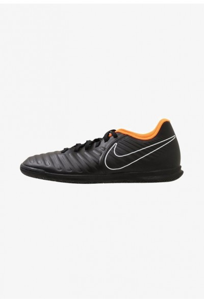 Nike TIEMPO LEGENDX 7 CLUB IC - Chaussures de foot en salle black/total orange/black/white