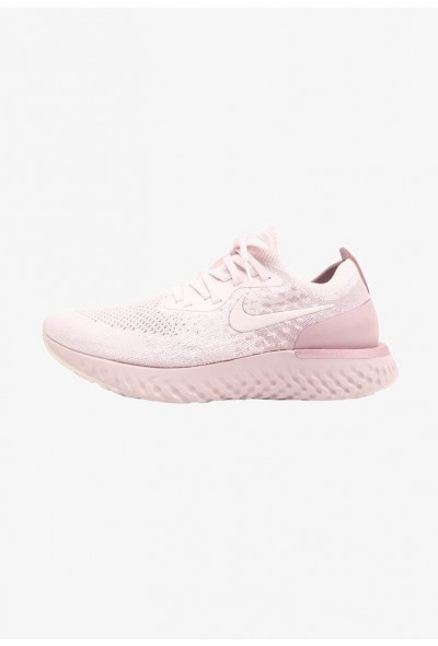 Nike EPIC REACT FLYKNIT - Chaussures de running neutres pearl pink/barely rose/arctic pink