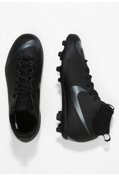 Nike CLUB MG - Chaussures de foot à crampons black/anthracite/light crimson