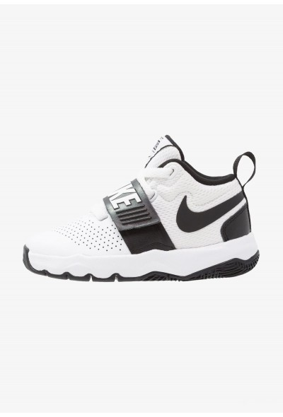 Black Friday 2019 - Nike TEAM HUSTLE D 8  - Chaussures de basket white/black