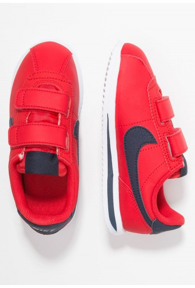 Nike CORTEZ BASIC - Baskets basses university red/obsidian/white