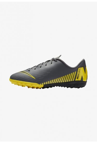 Nike MERCURIAL VAPORX  - Chaussures de foot multicrampons dark grey/yellow/black