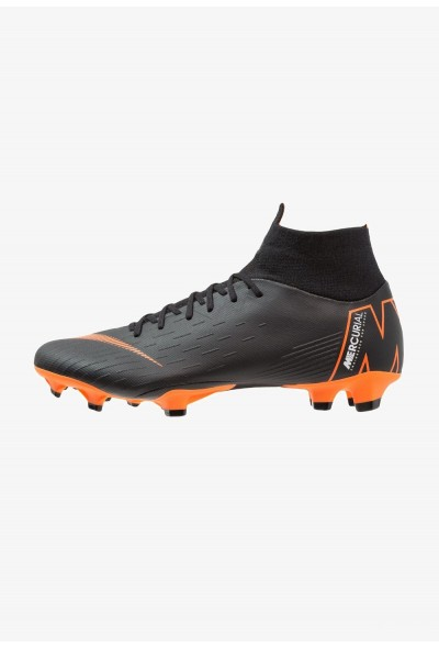 Nike MERCURIAL 6 PRO FG - Chaussures de foot à crampons black/total orange/white