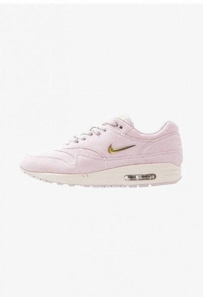 Nike AIR MAX 1 PREMIUM - Baskets basses - particle rose/metallic gold particle rose/metallic gold-desert sand