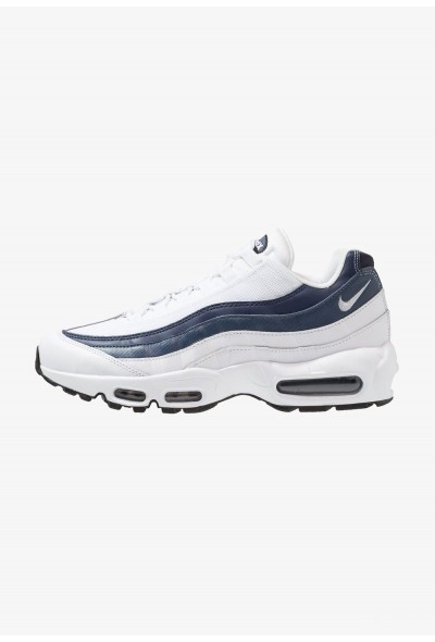 Nike AIR MAX 95 ESSENTIAL - Baskets basses white/midnight navy/monsoon blue/pure platinum