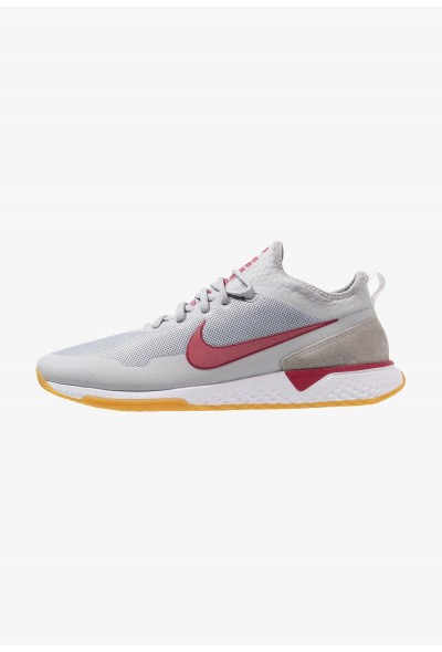 Nike FC - Baskets basses wolf grey/noble red/white/light brown