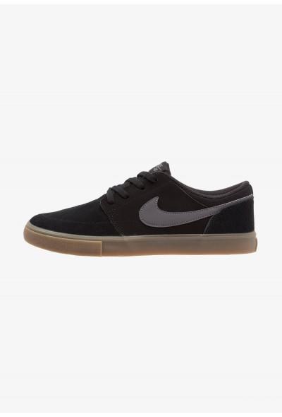 Nike SOLARSOFT PORTMORE  - Baskets basses black/light brown/dark grey