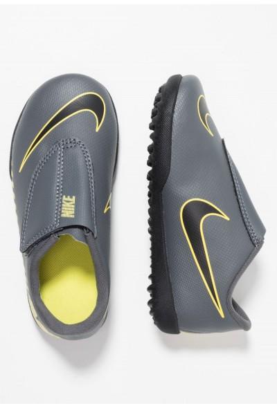 Nike MERCURIAL VAPORX 12 CLUB TF - Chaussures de foot multicrampons dark grey/black/opti yellow