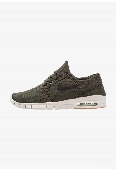 Nike STEFAN JANOSKI MAX - Baskets basses sequoia/black/medium brown/light bone