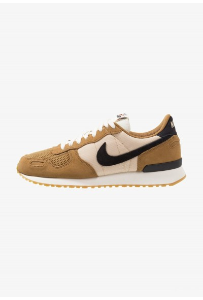 Nike AIR VORTEX - Baskets basses golden beige/black/desert ore/sail/light brown/team orange