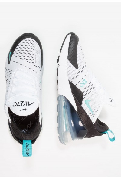 Nike AIR MAX 270 - Baskets basses white/dusty cactus/black