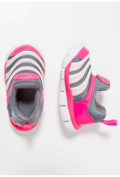 Nike DYNAMO FREE - Mocassins cool grey/pink foam/hyper pink/white