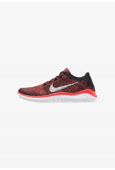 Nike FREE RUN FLYKNIT 2018 - Chaussures de course neutres bright crimson/white/black