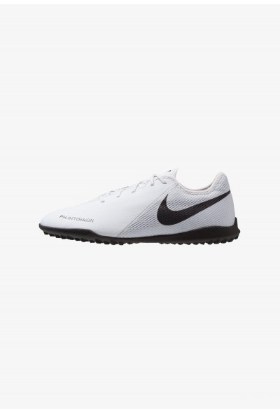 Nike PHANTOM  VSN ACADEMY TF - Chaussures de foot multicrampons pure platinum/black/light crimson/dark grey