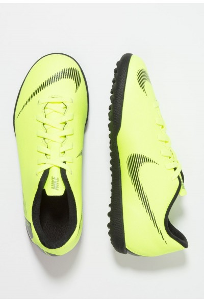 Black Friday 2019 - Nike MERCURIAL VAPORX 12 CLUB TF - Chaussures de foot multicrampons volt/black
