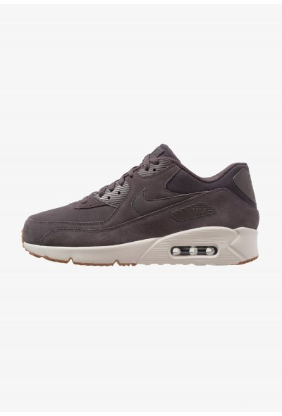 Nike AIR MAX 90 ULTRA 2.0 LTR - Baskets basses thunder grey/light bone/medium brown/black